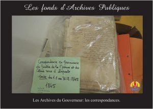 05-Les archives du Gouverneur