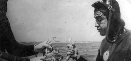 Hommage à Jean TAPU, légende polynésienne de la chasse sous-marine