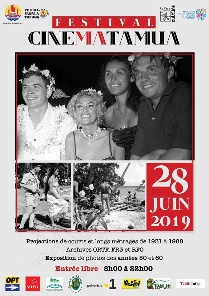 FESTIVAL CINEMATAMUA, le 28 juin 2019 à la Maison de la Culture