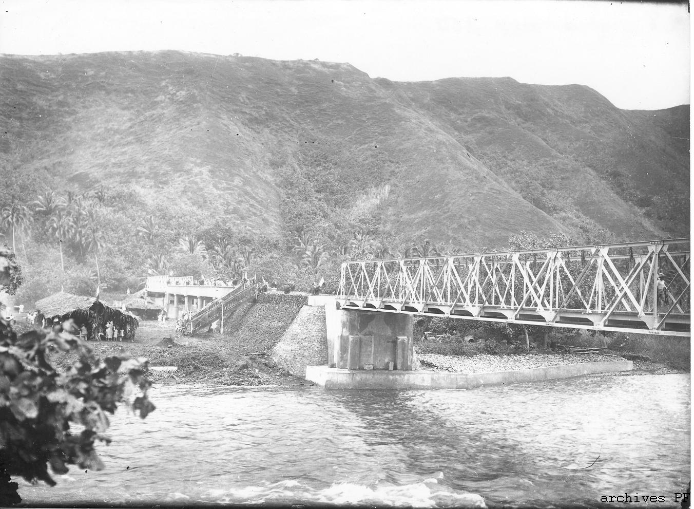 Le saviez-vous ? Quand le pont de la Papenoo se cherchait un nom.
