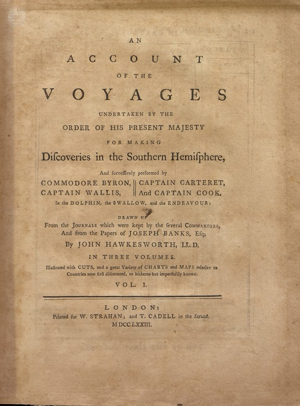 Voyages de James COOK en 9 volumes (en anglais)
